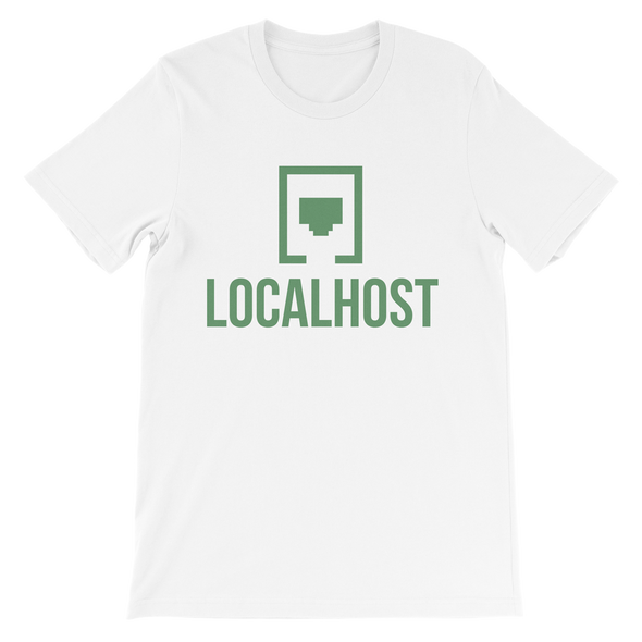 Local Host - Logo Tee - White