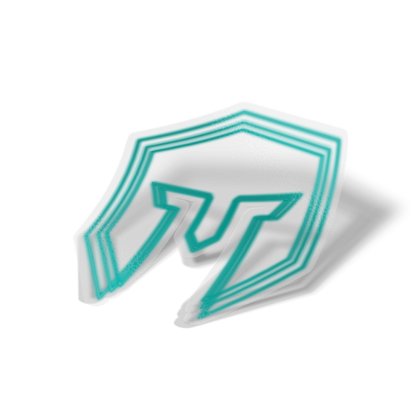 Immortals Glow Logo Sticker