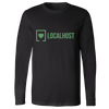 Localhost - Lockup Long Sleeve - Black/Green