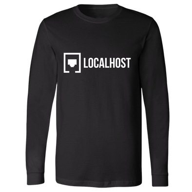 Local Host - Lockup Long Sleeve - Black