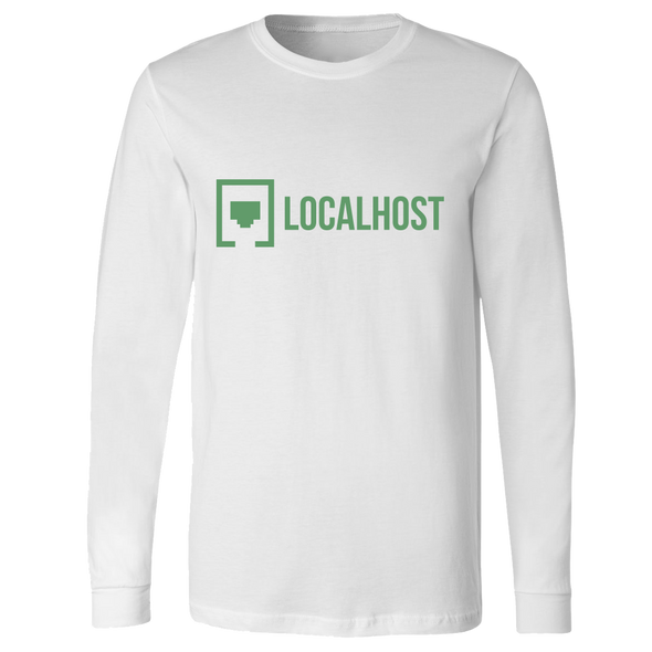 Localhost - Lockup Long Sleeve - White