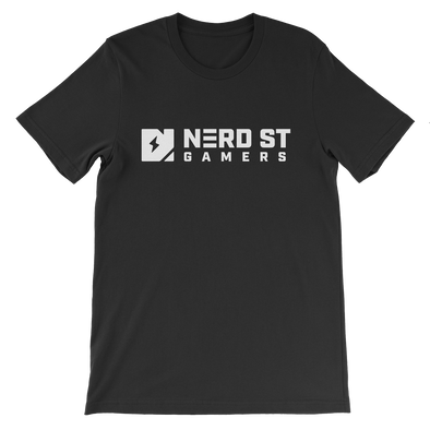 Nerd Street Gamers - Lockup Tee - Black