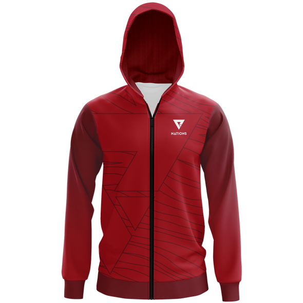 Nations Nations Pro Hoodie - Red - We Are Nations