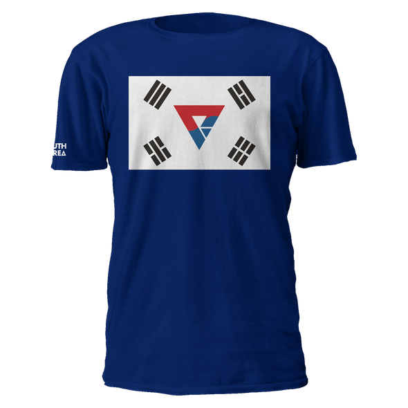 Nations South Korea Logo Flag Tee - We Are Nations
