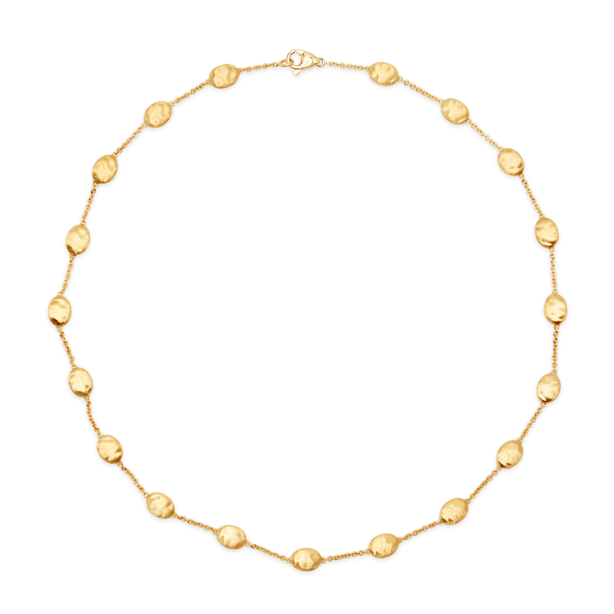 "18ct Gold ""Siviglia"" Bead Necklace 16"" Marco Bicego"