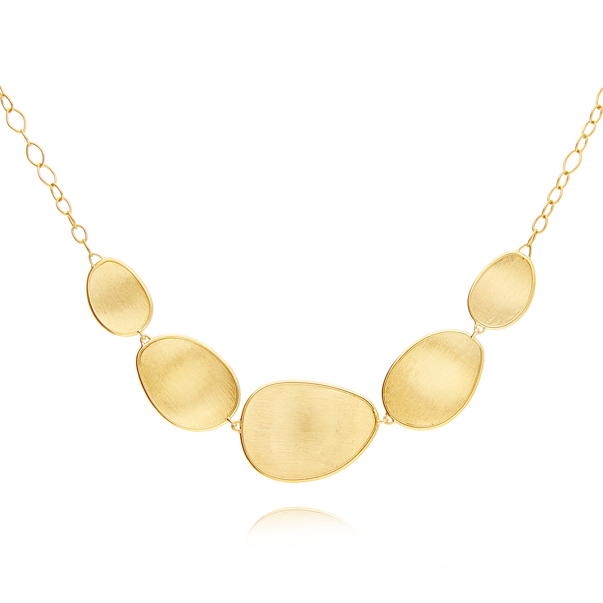 "18ct Gold ""Lunaria"" Necklace Marco Bicego"