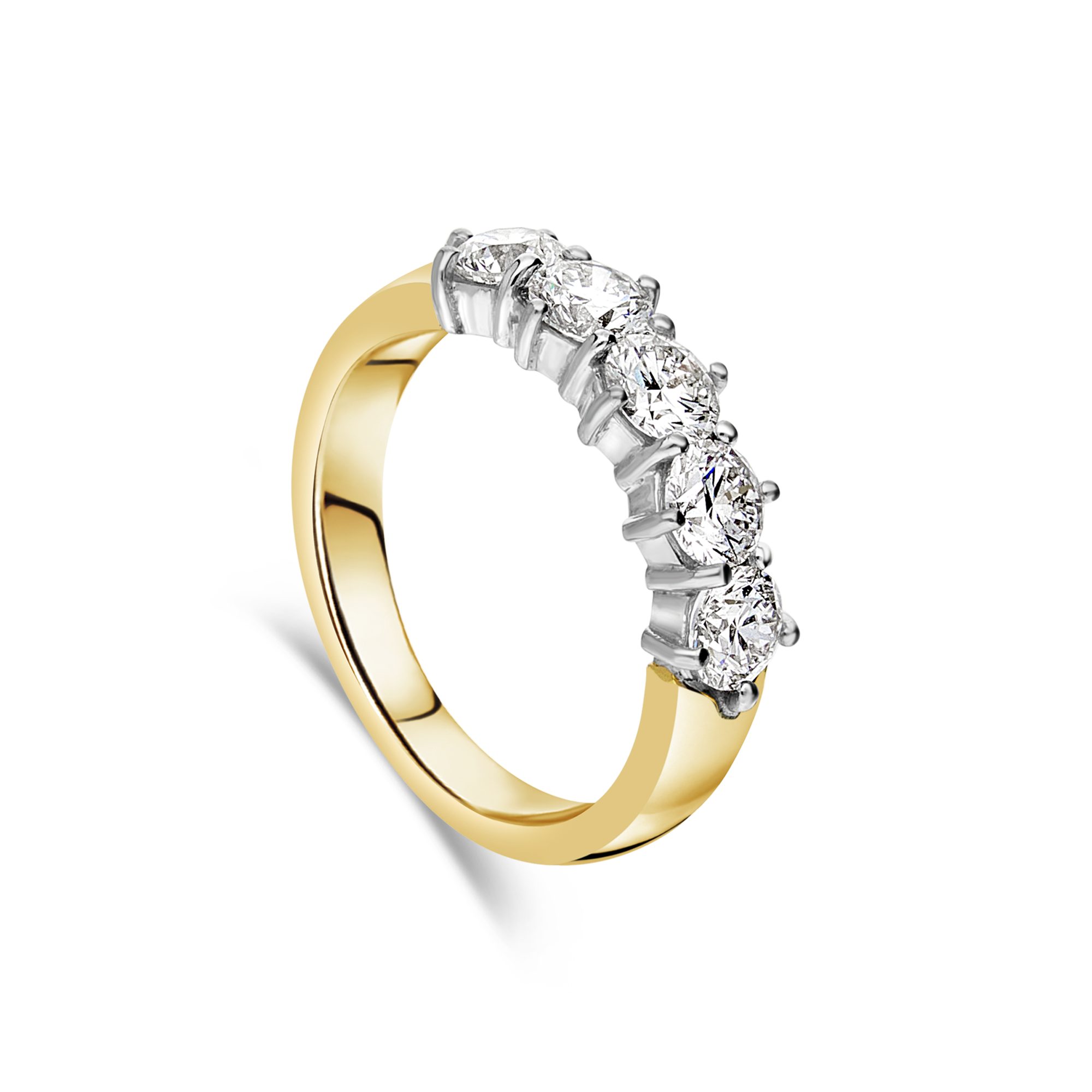 "The ""Garland"" Ring, Yellow Gold"