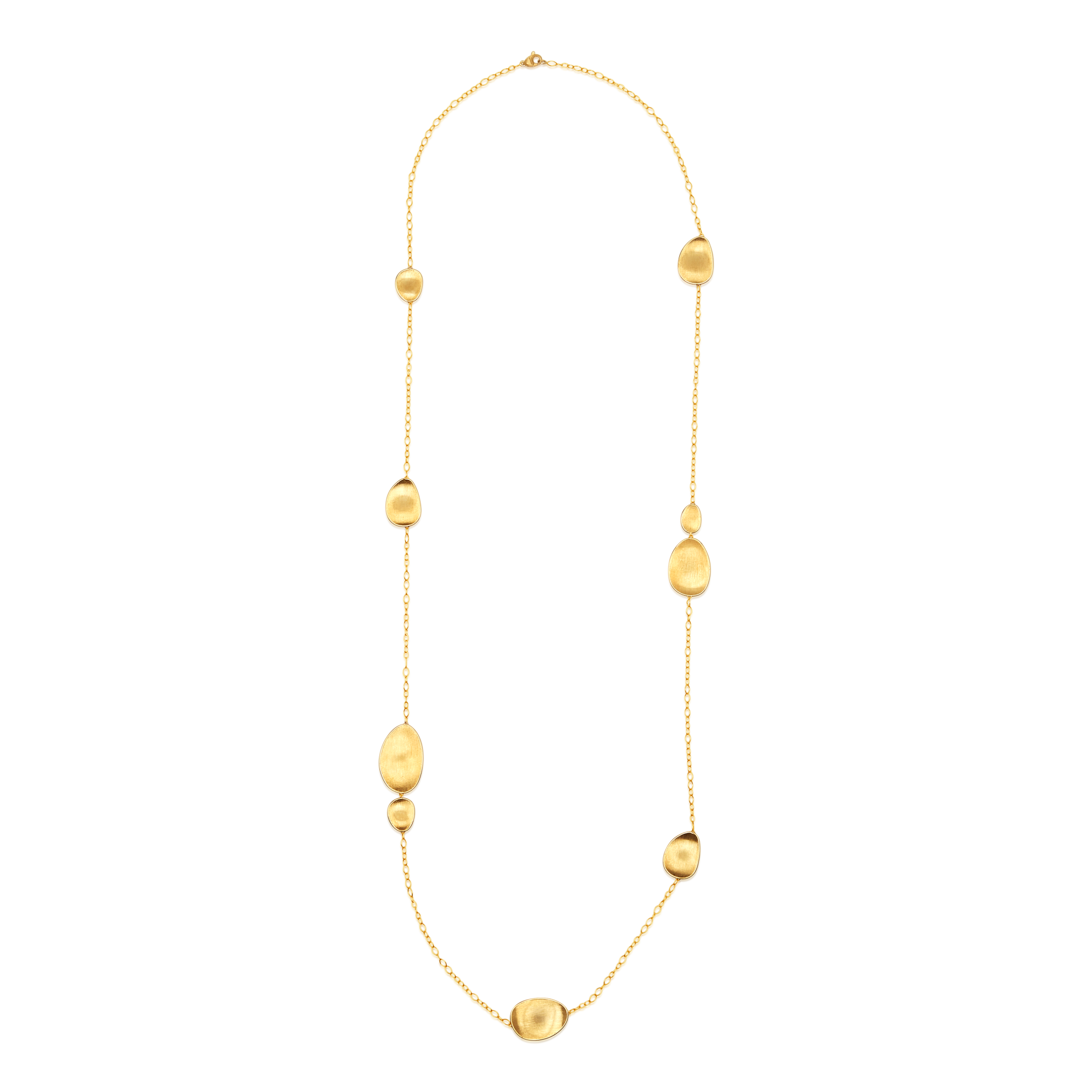 "18ct Gold Long ""Lunaria"" Necklace Marco Bicego"