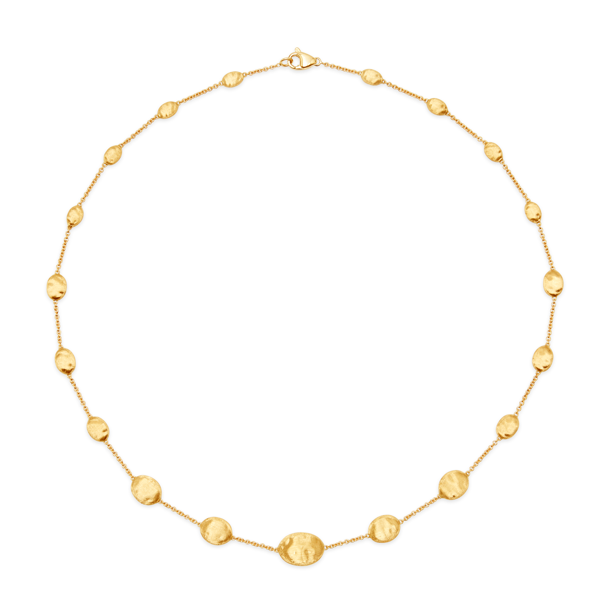 "18ct Gold ""Siviglia"" Bead Necklace 18"" Marco Bicego"