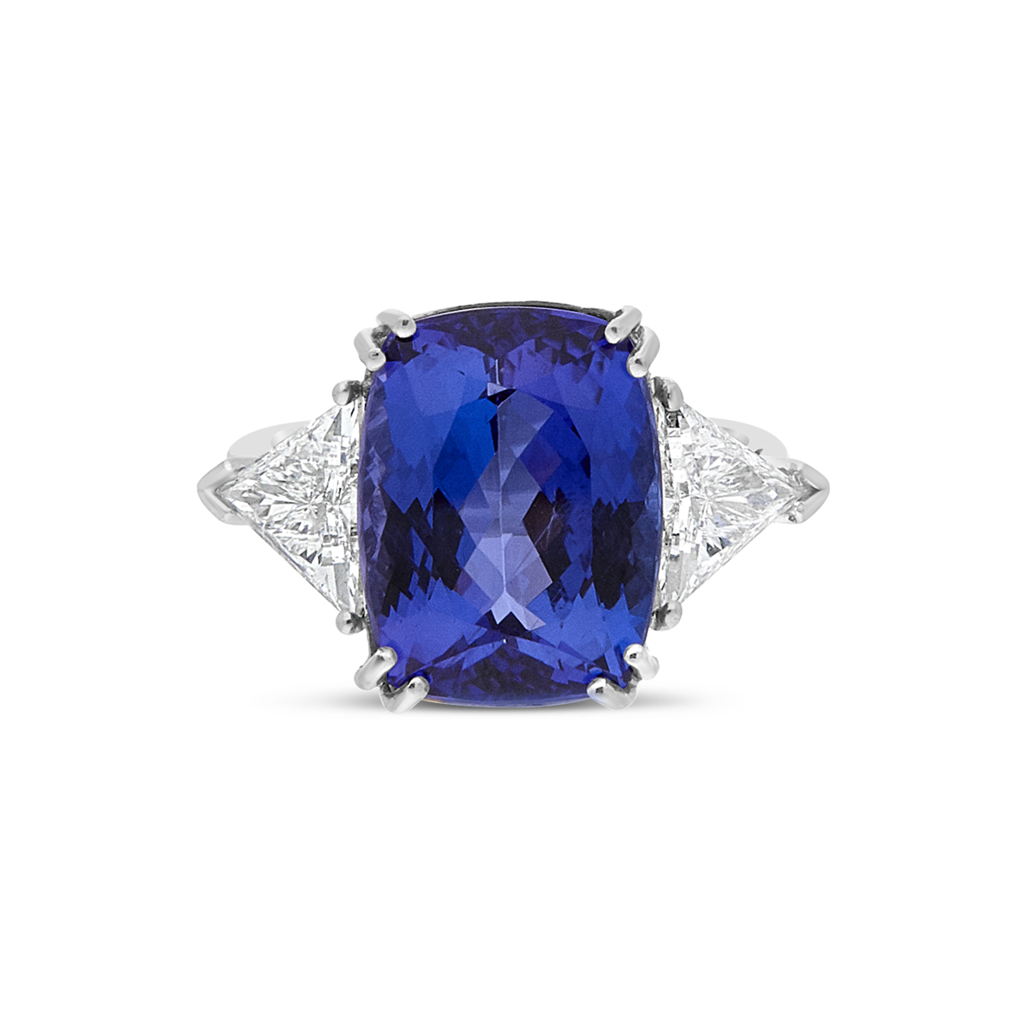 "The ""Mirage"" Tanzanite and Diamond Ring"