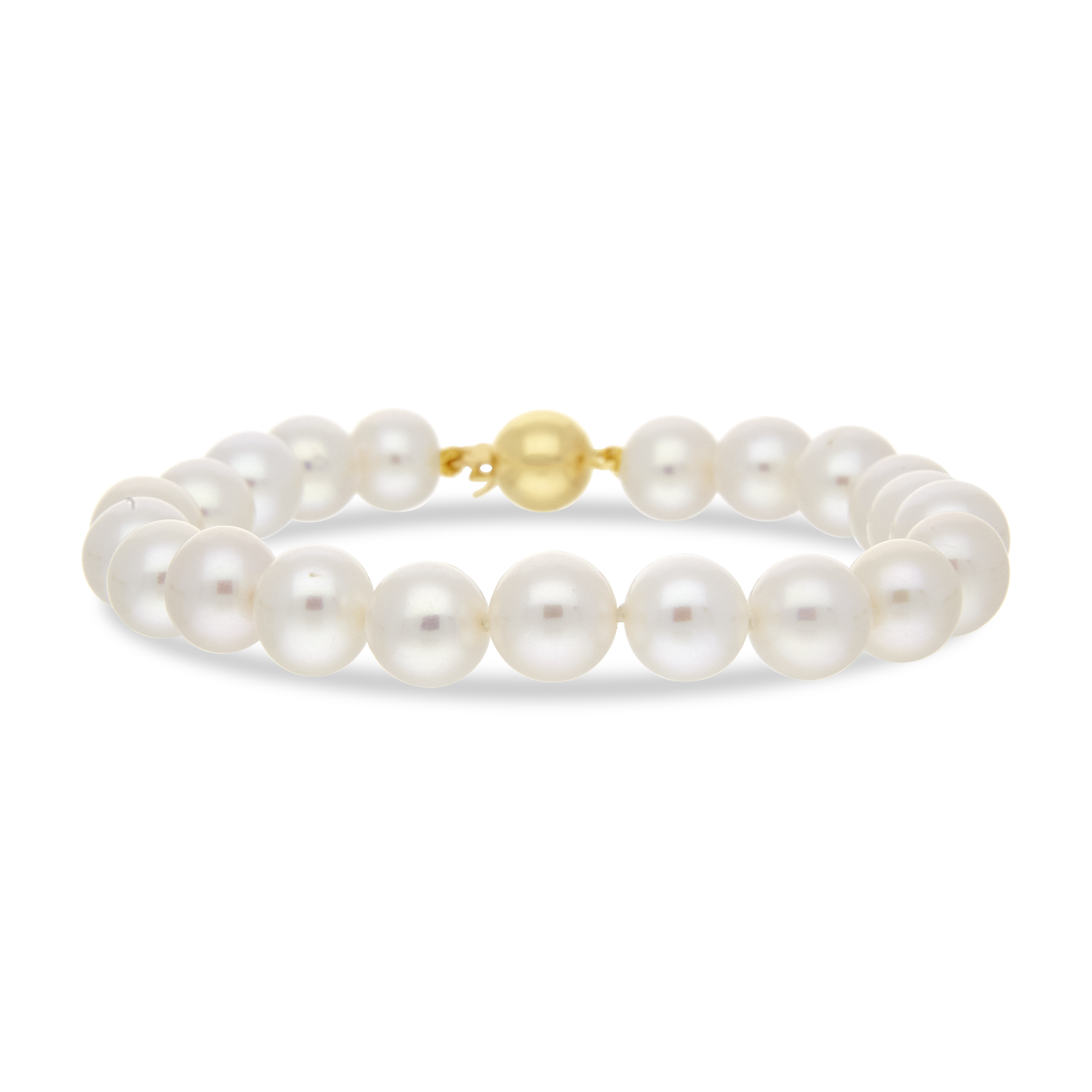 Pearl Bracelet Yellow Gold 8-8.5mm