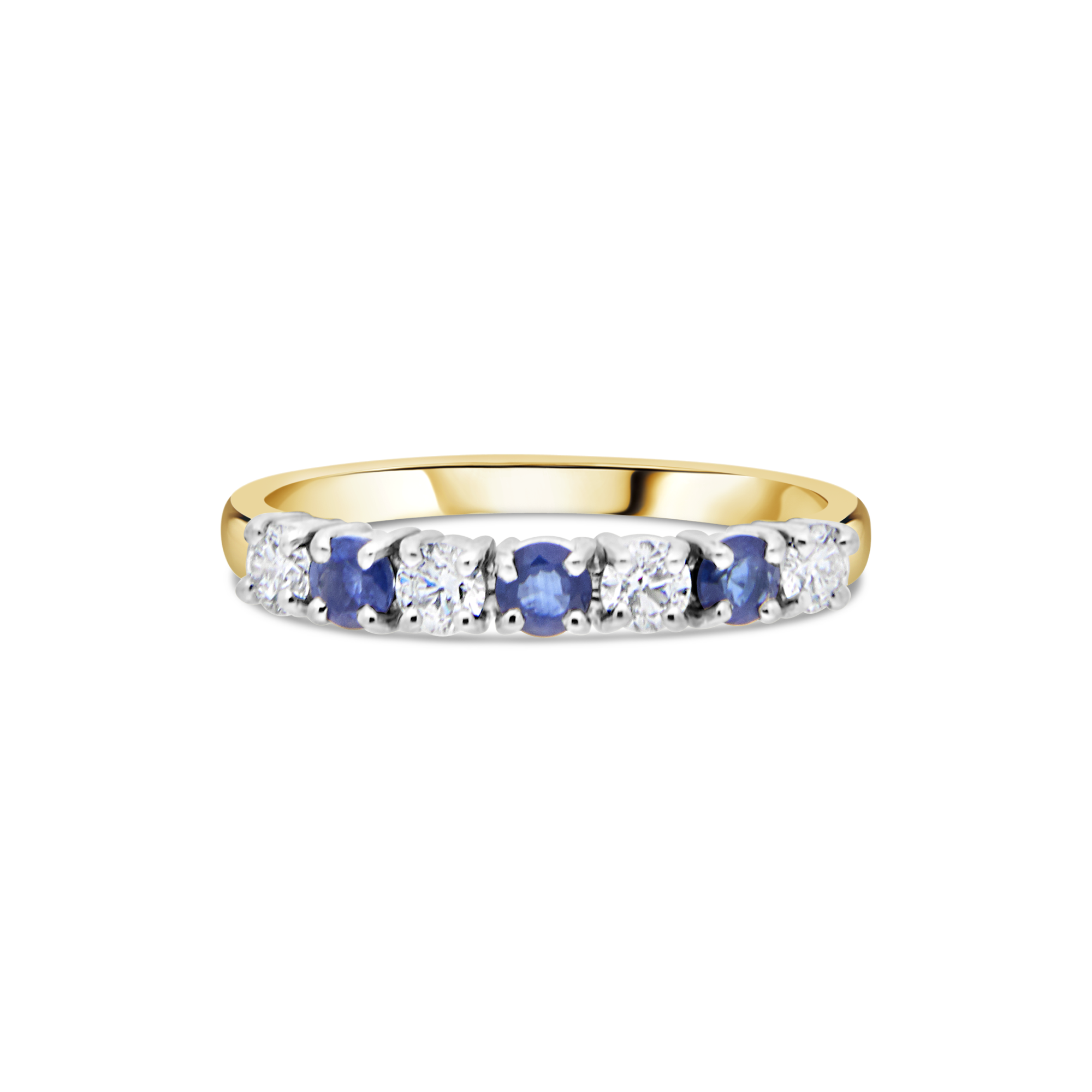 "The ""Galeria"" Sapphire and Diamond, Yellow Gold"