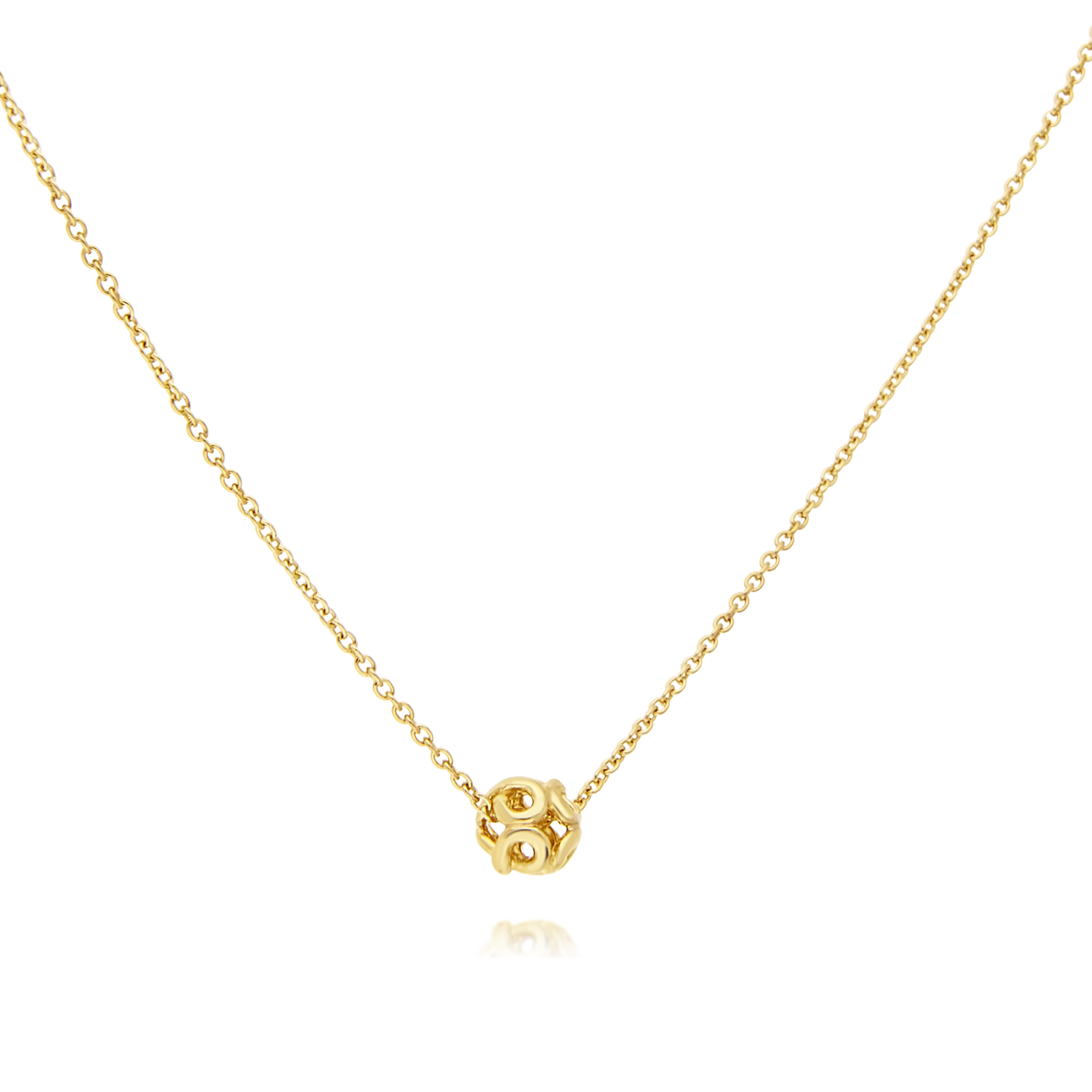 9ct Gold Ball Pendant