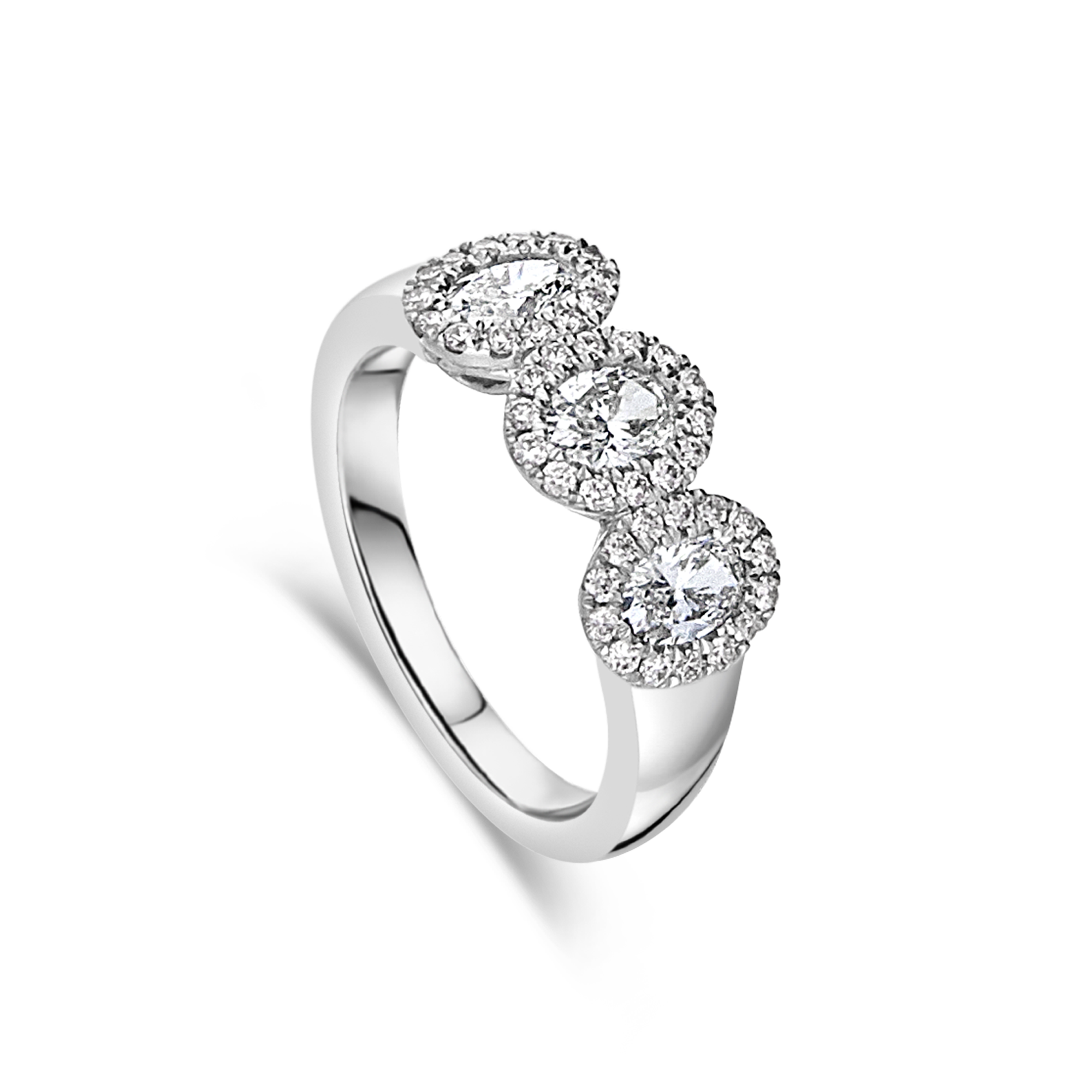 "The ""Distinguished"" Oval Cluster Ring"