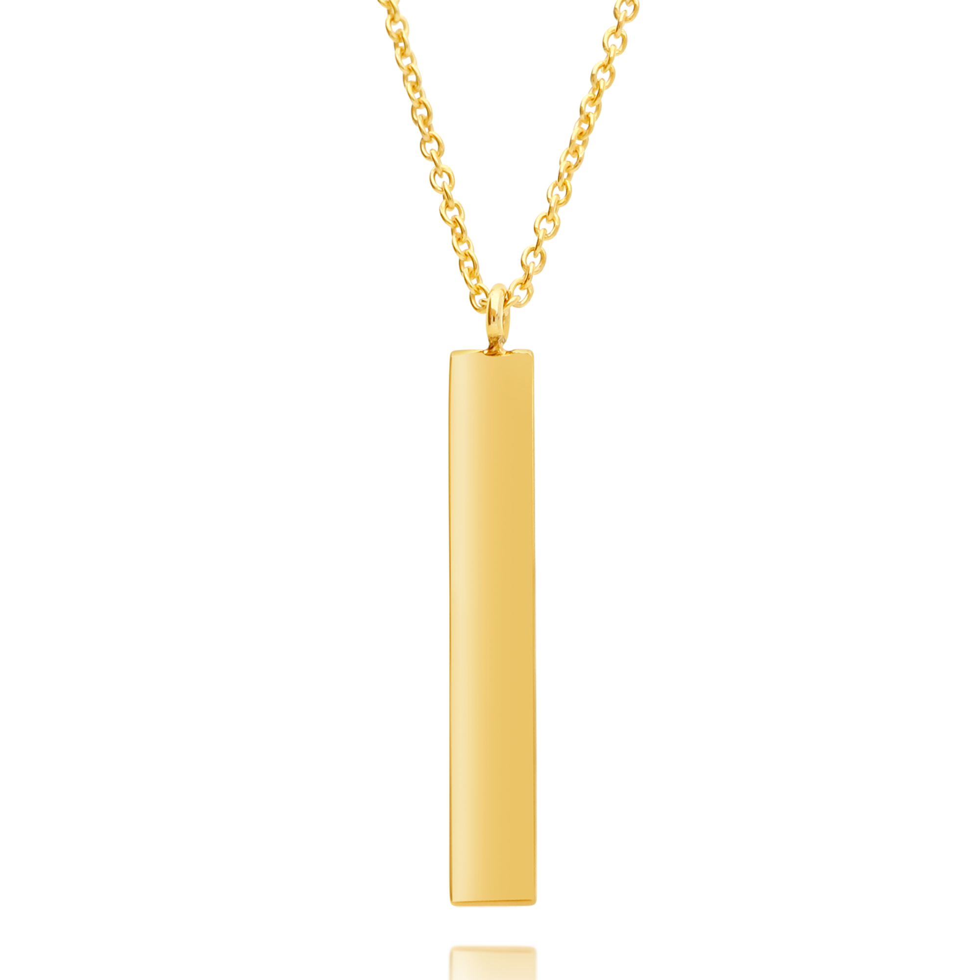 Gold Bar Pendant