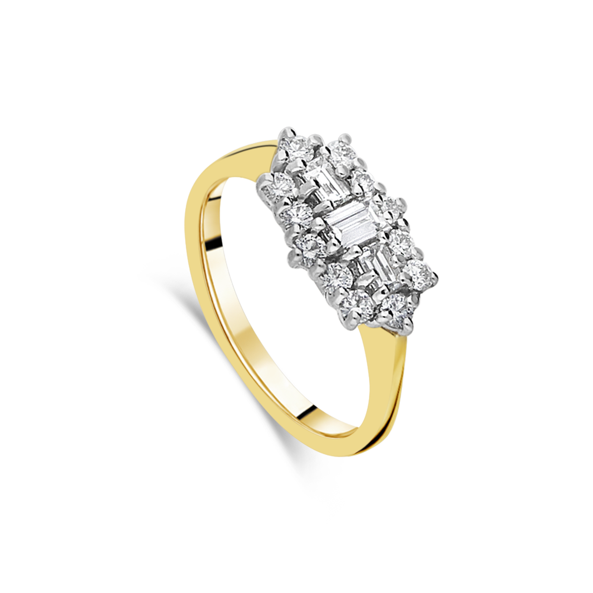 "The ""June"" Ring Yellow Gold"