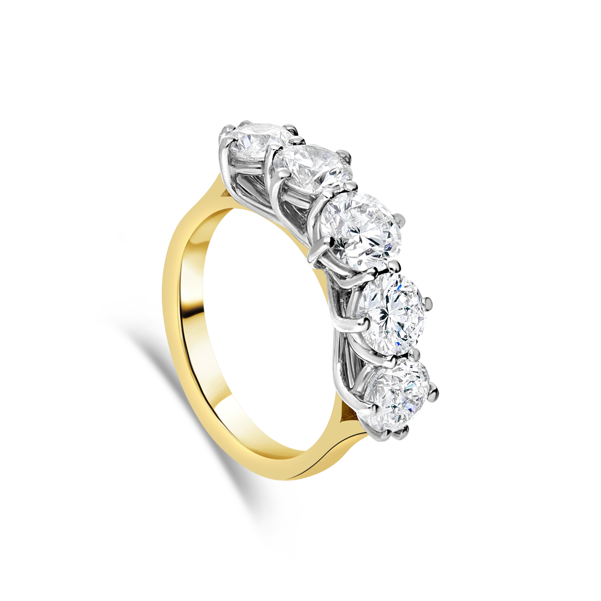 "The ""Sonata"" Ring, Yellow Gold"