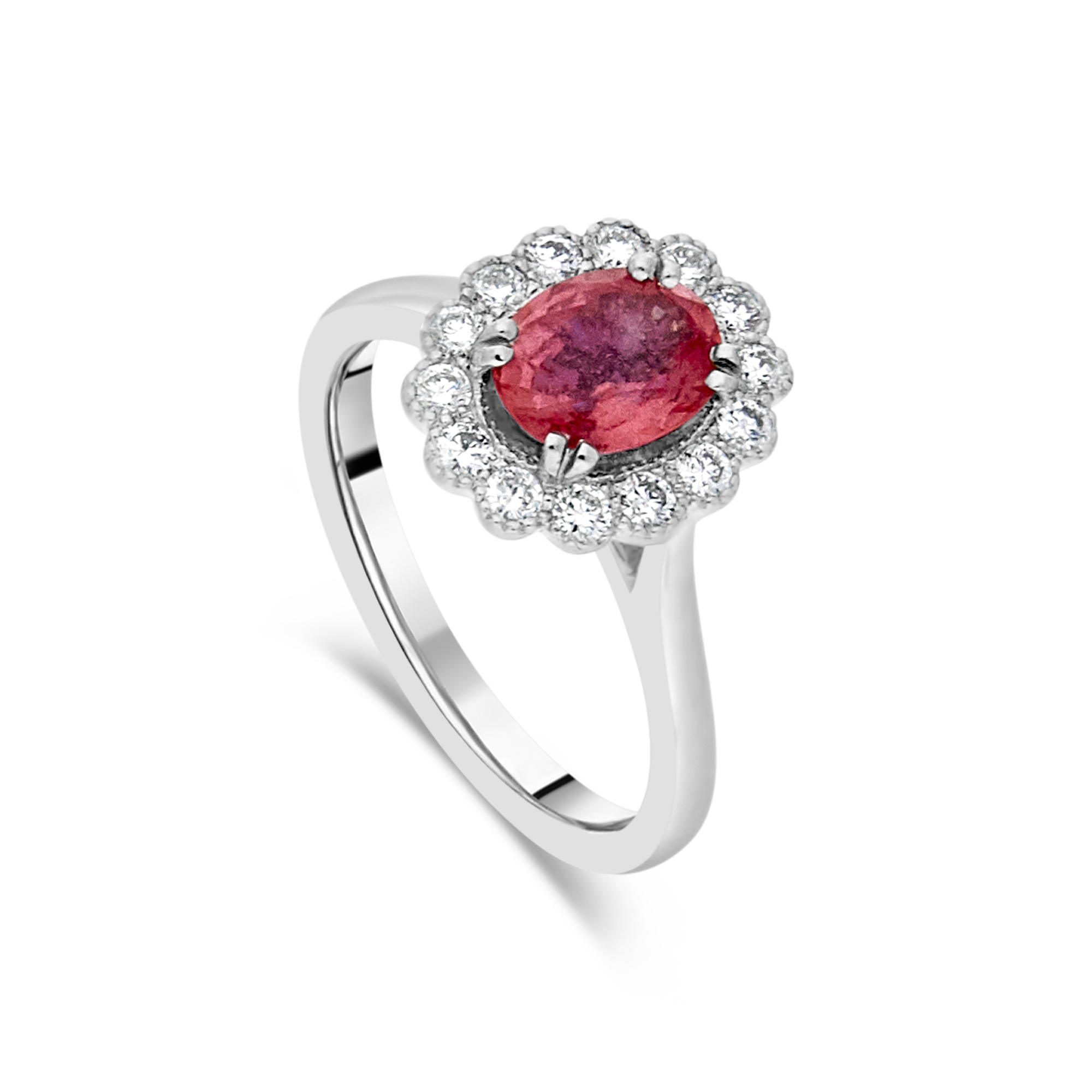 "The ""Kate Flower"" Padparadscha Pink Sapphire"
