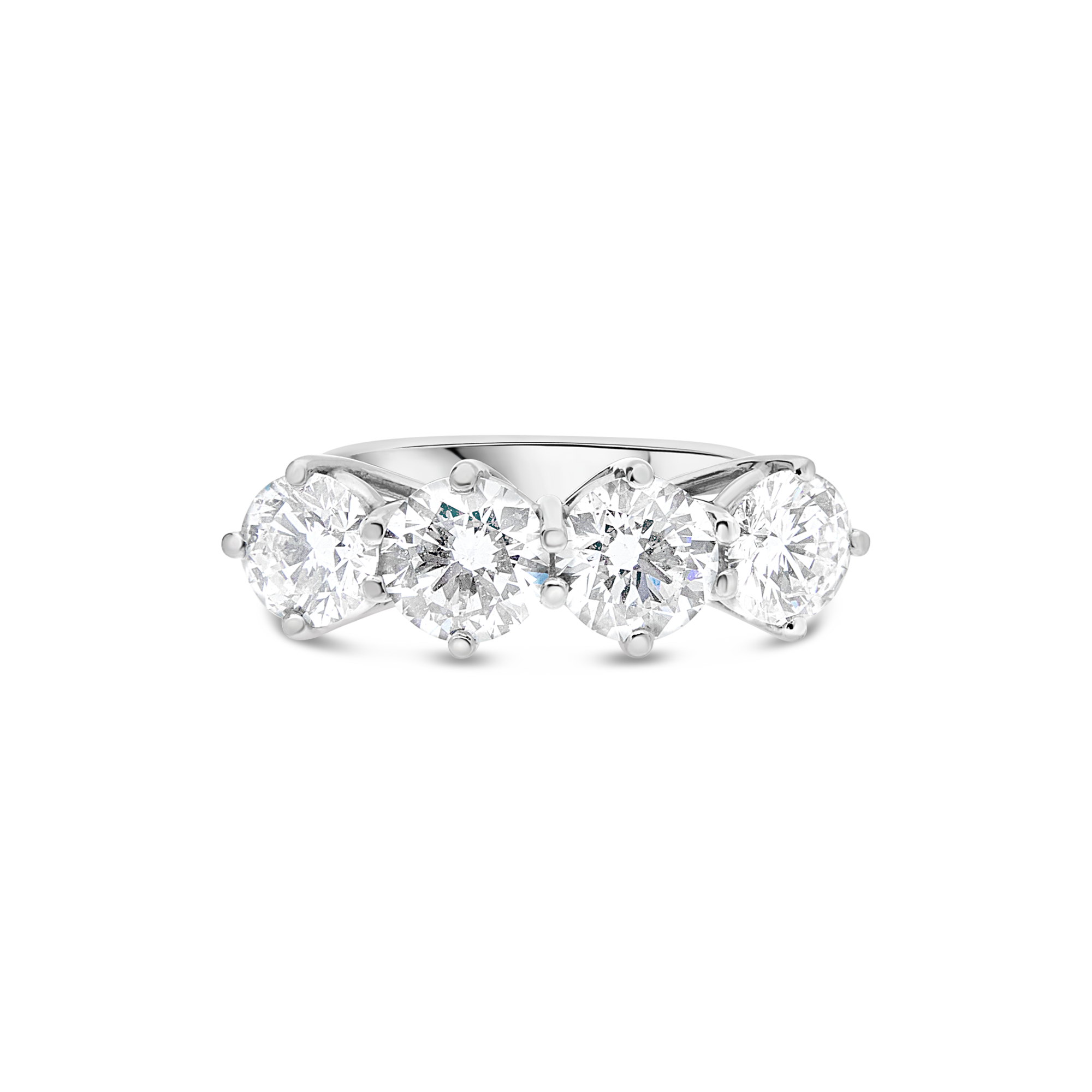"The ""Glitter"" Ring, Platinum"
