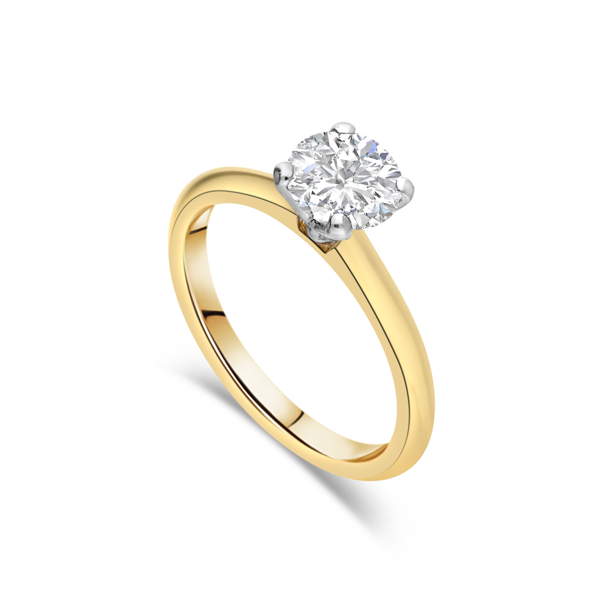 "The ""Courtship"" Solitaire Yellow Gold"