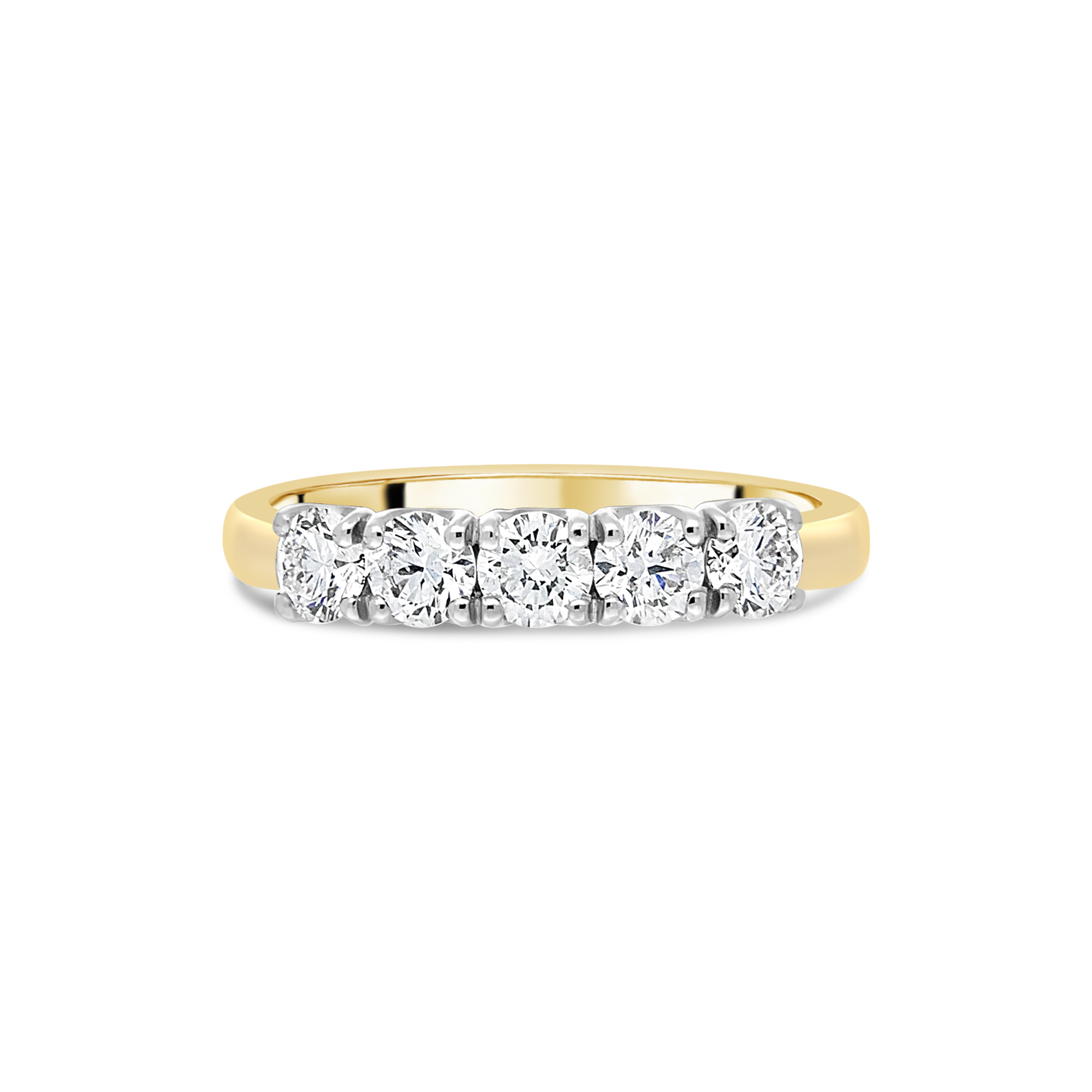 "The ""Arc"" Ring, Yellow Gold"