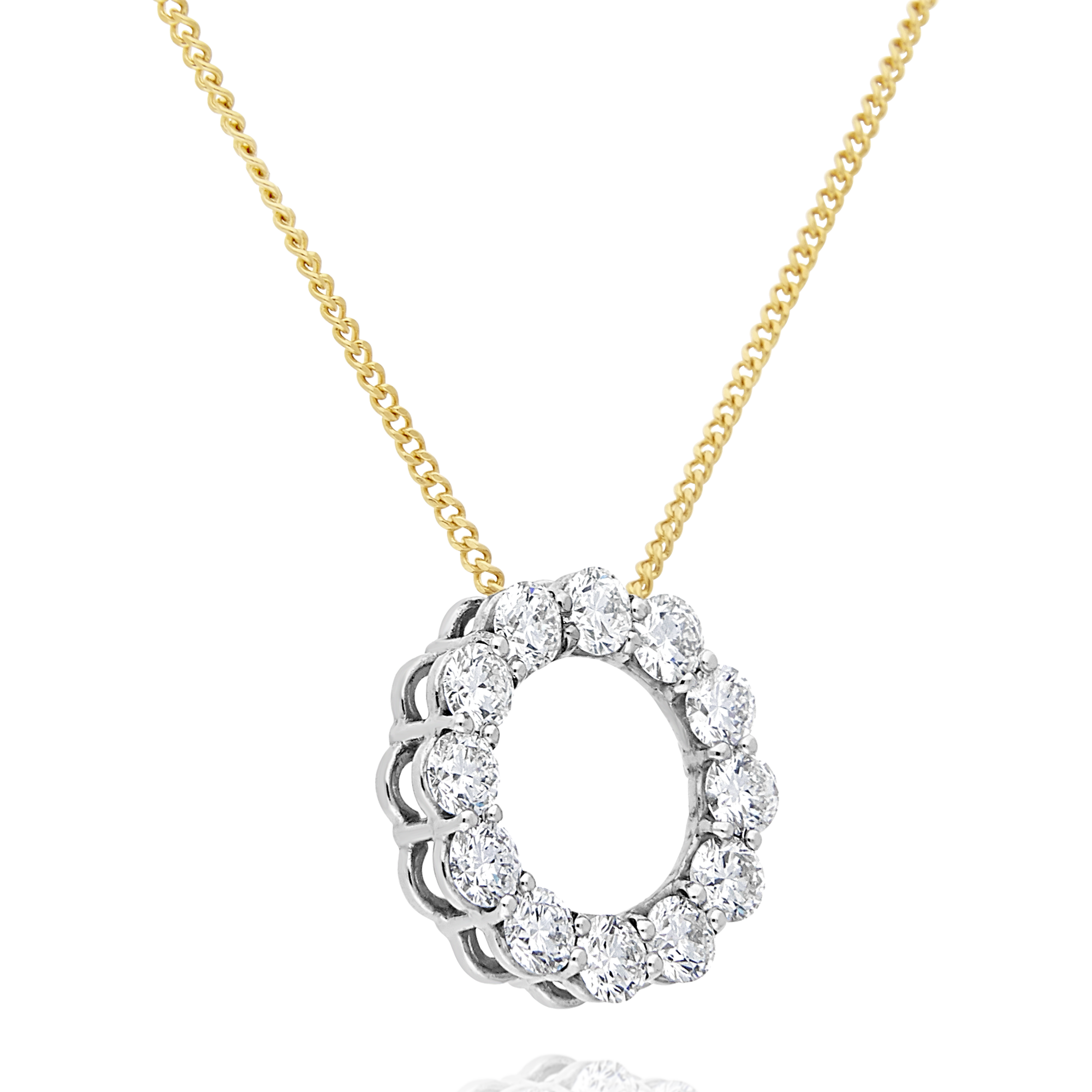 Diamond Circle of Life Pendant