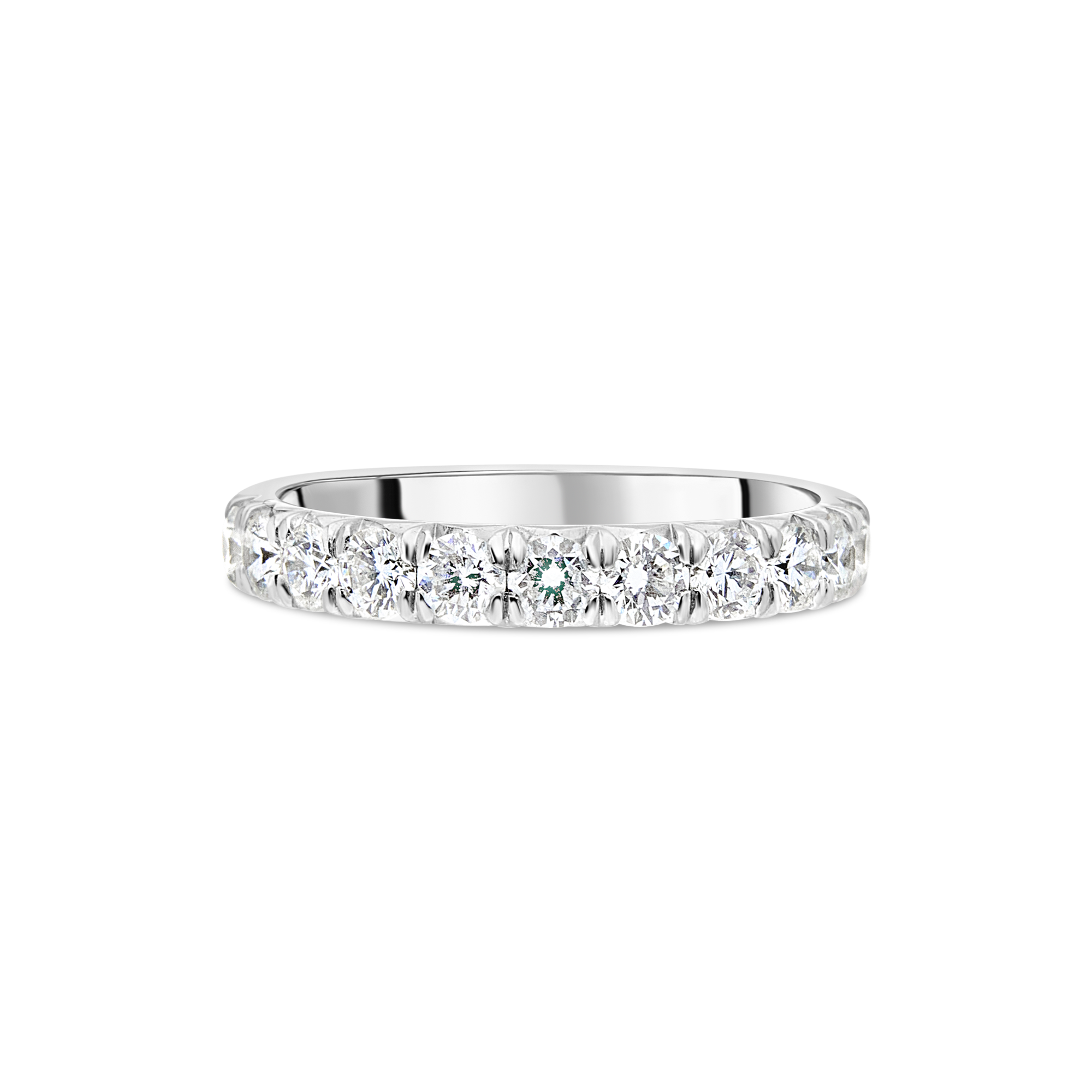 "The ""Pyramid"" Eternity Ring, Platinum"