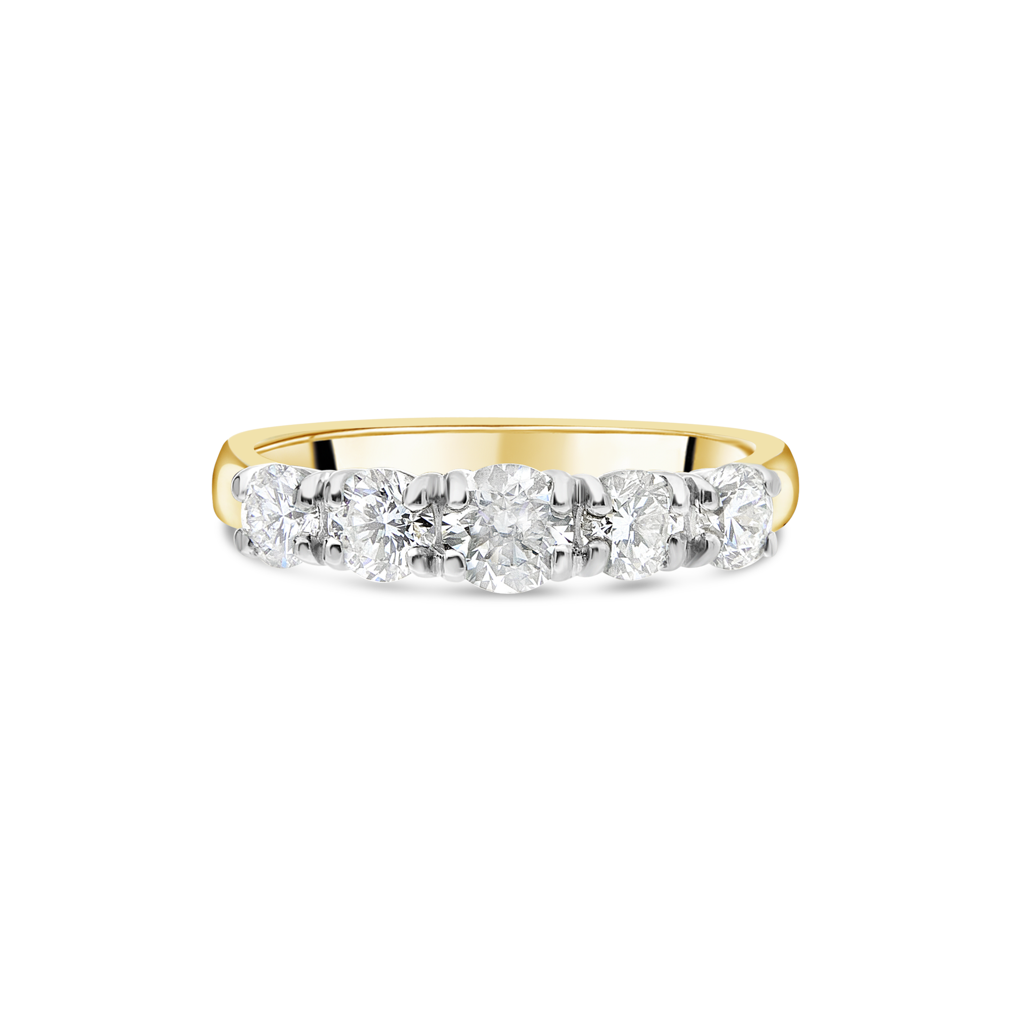 "The ""Galeria"" Ring, Yellow Gold"