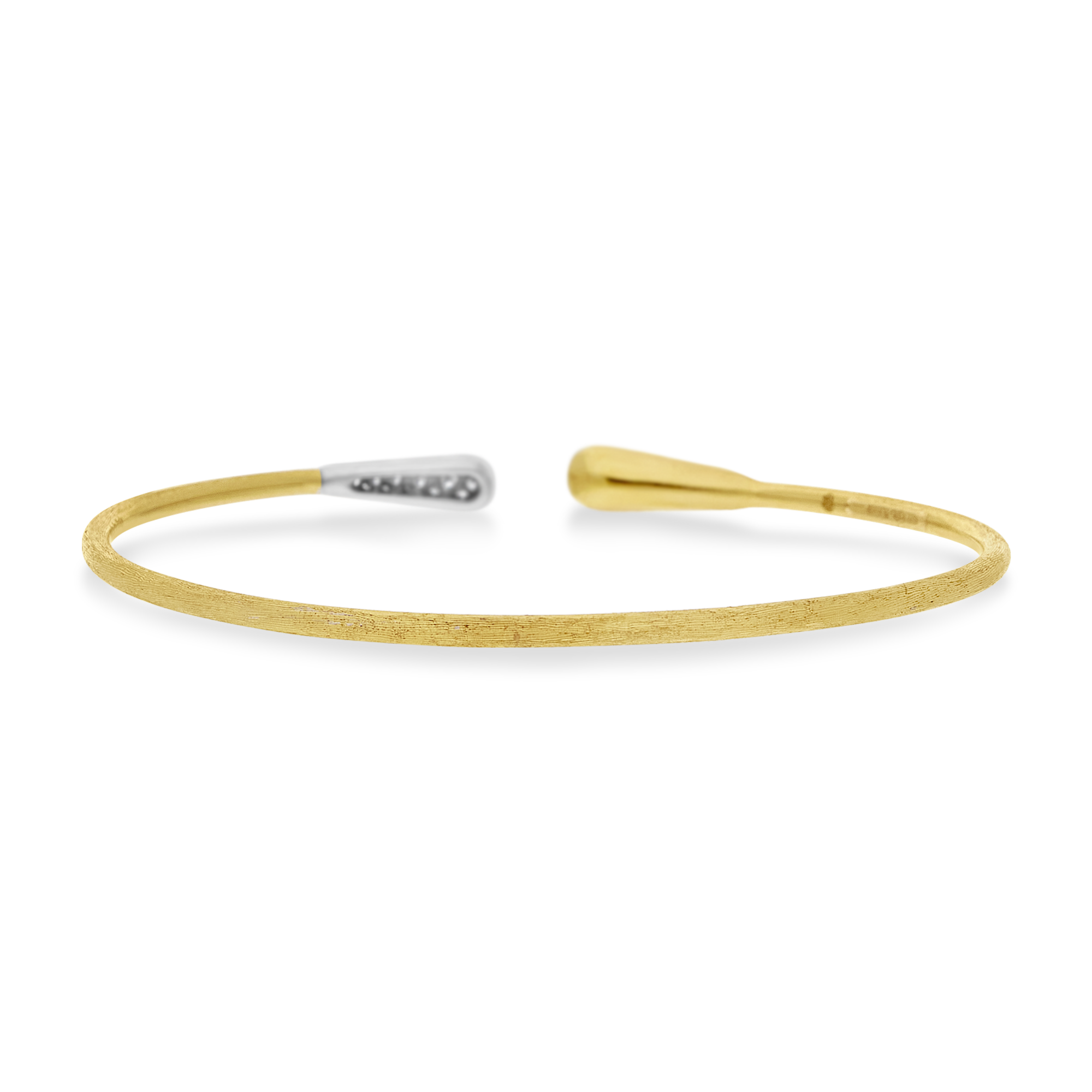 "18ct Gold and Diamond ""Lucia"" Bangle Marco Bicego"