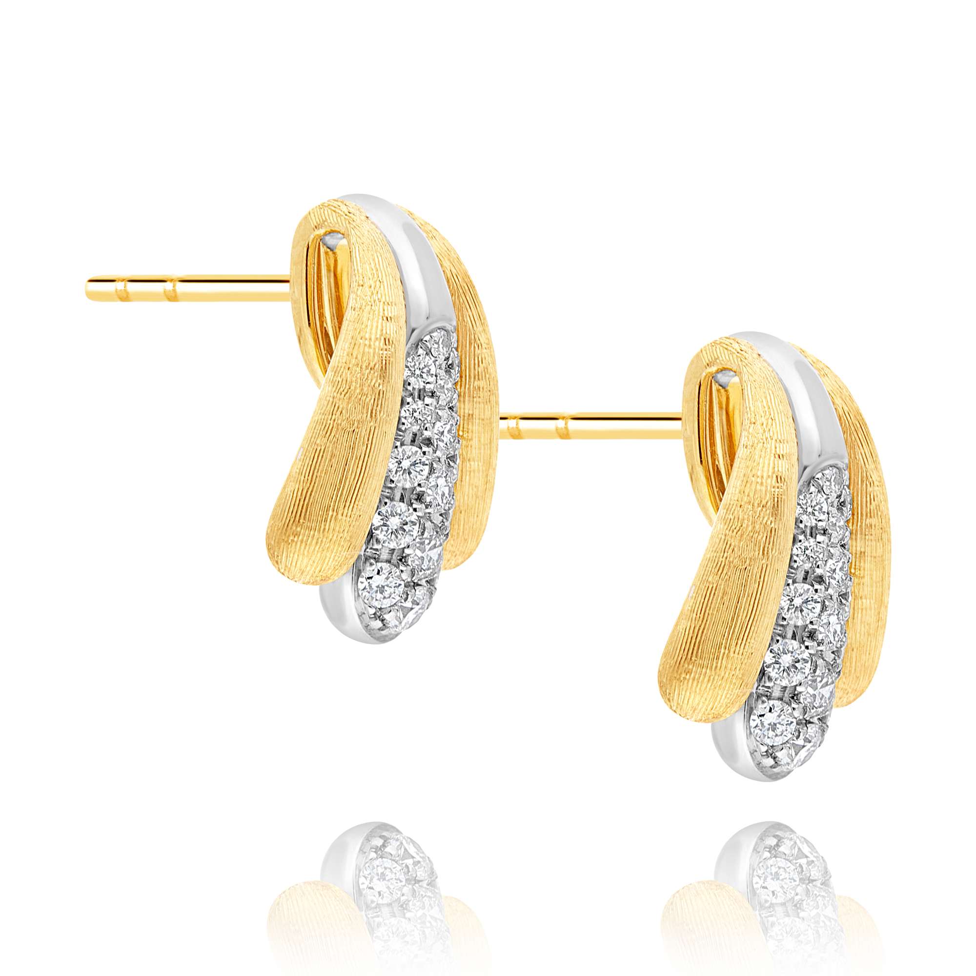 "18ct Gold and Diamond ""Lucia"" Earrings Marco Bicego"
