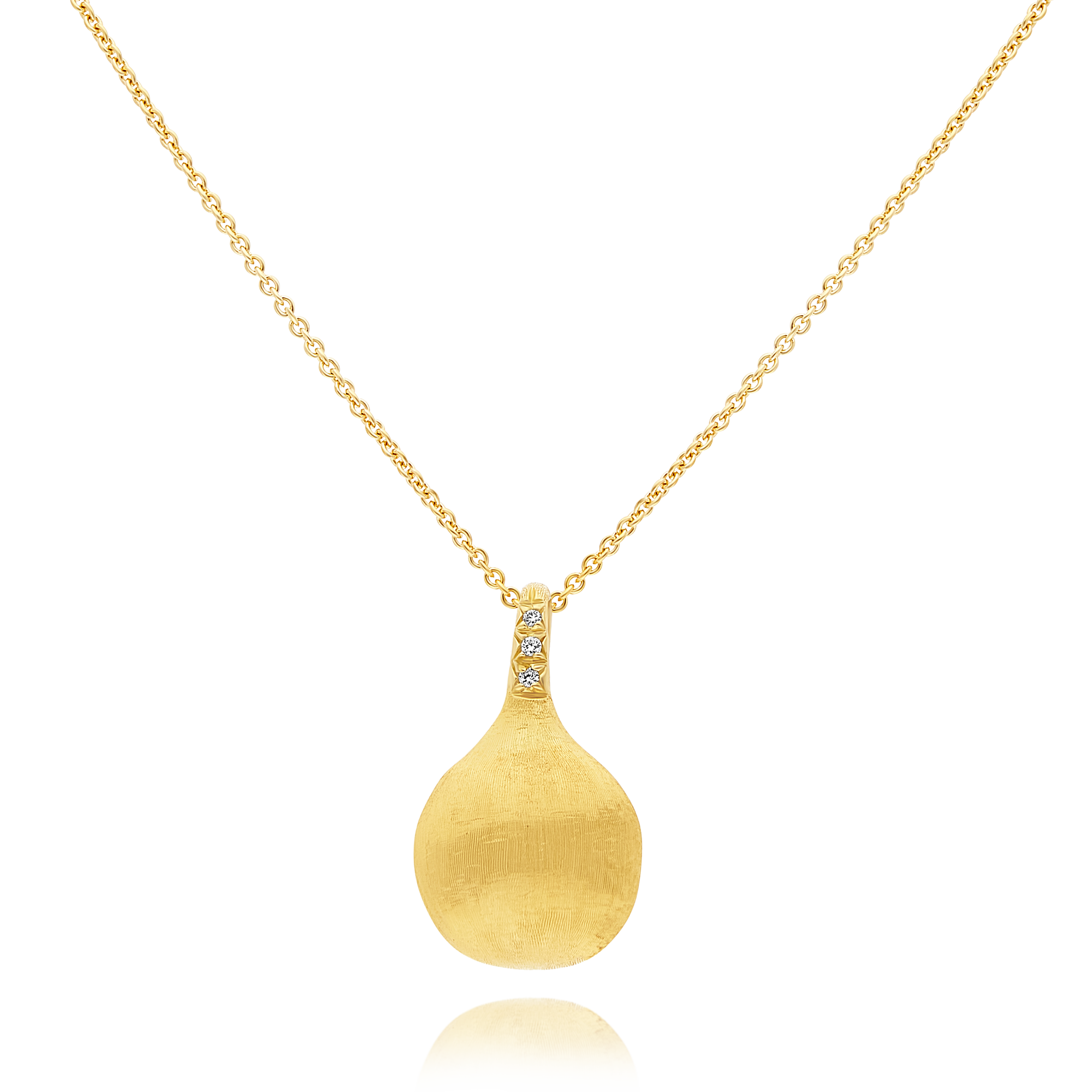 "18ct Gold and Diamond ""Africa"" Pendant Marco Bicego"