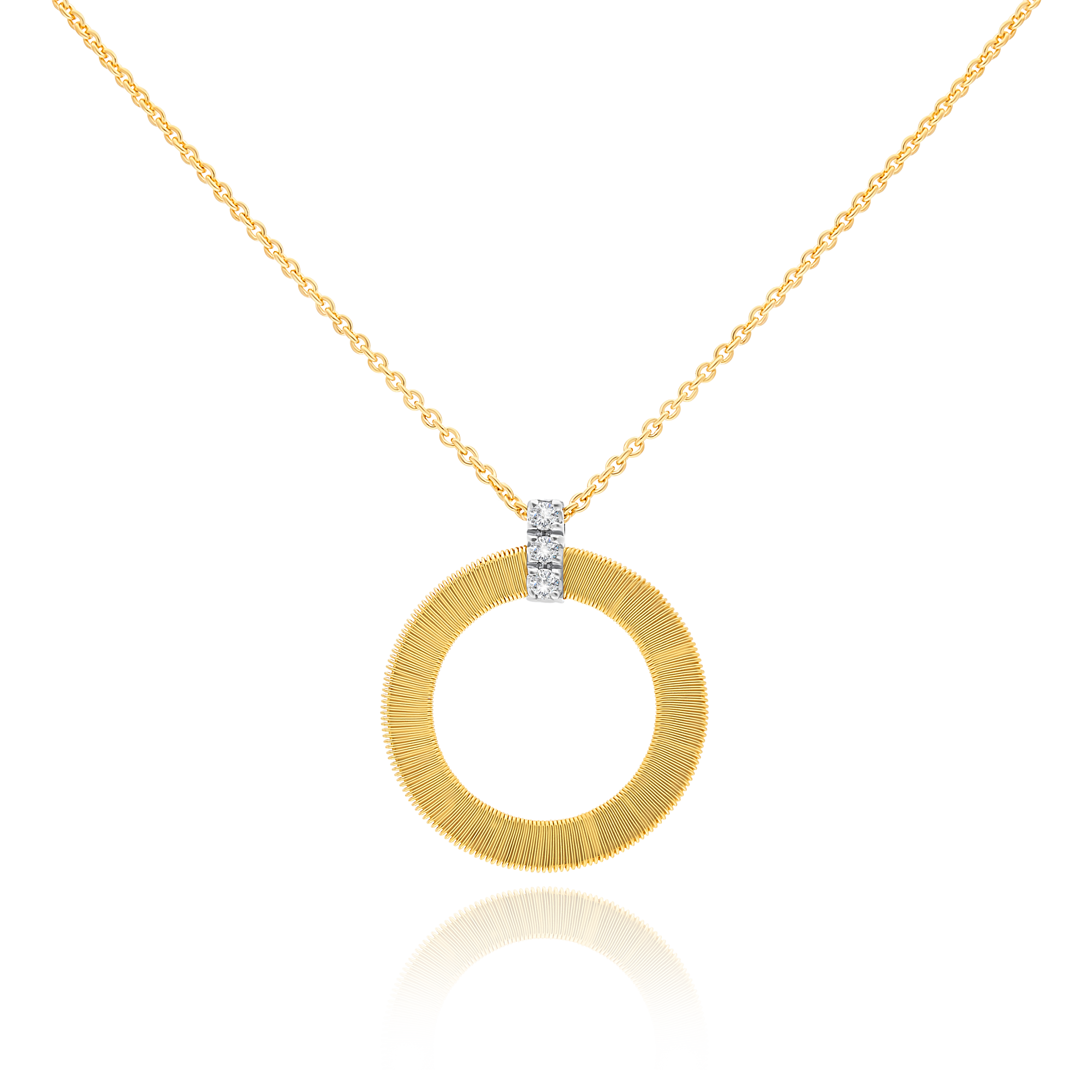 "18ct Gold and Diamond ""Masai"" Pendant Marco Bicego"