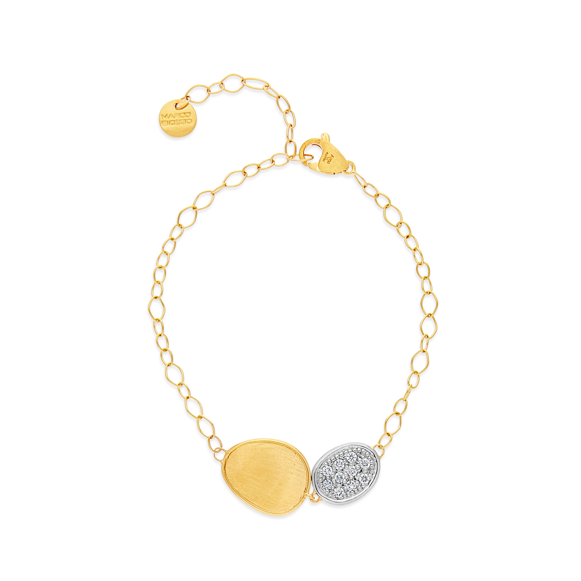 "18ct Gold and Diamond ""Lunaria"" Bracelet Marco Bicego"
