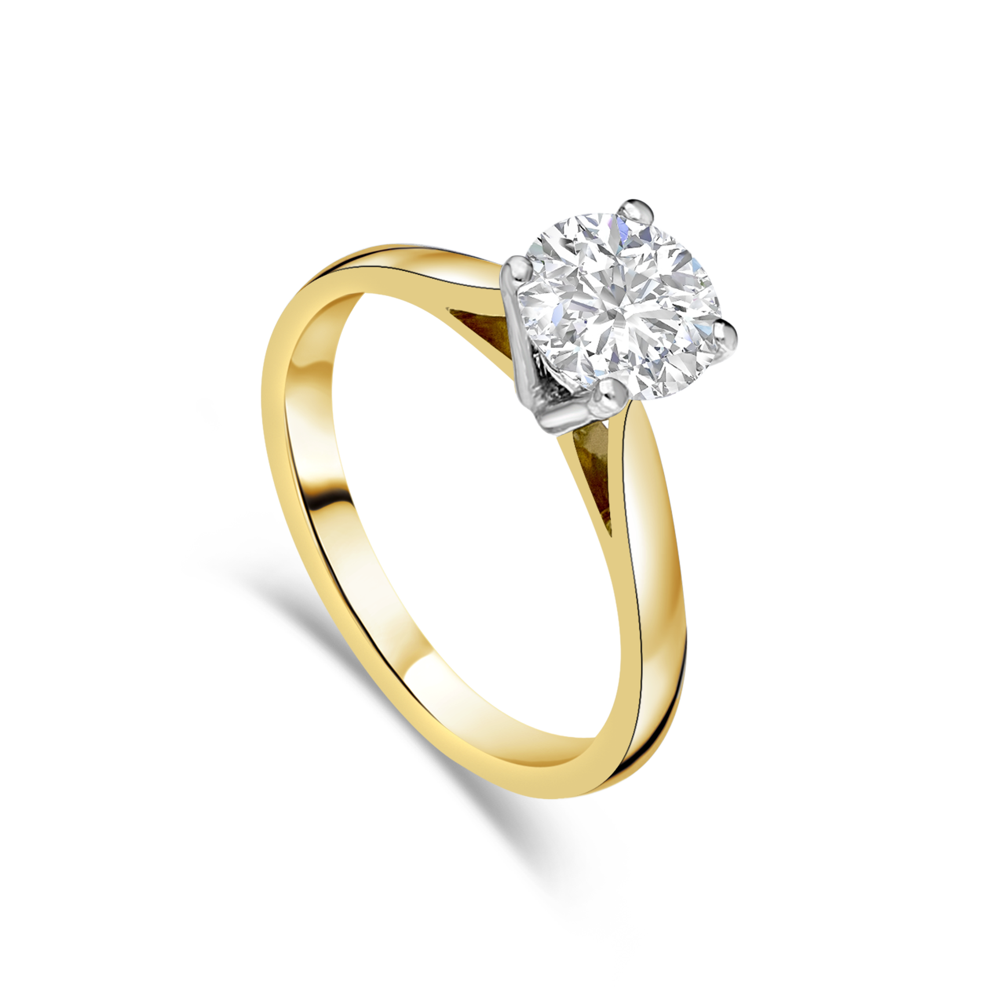"The ""Imperial"" Solitaire, Yellow Gold, 1.10ct"
