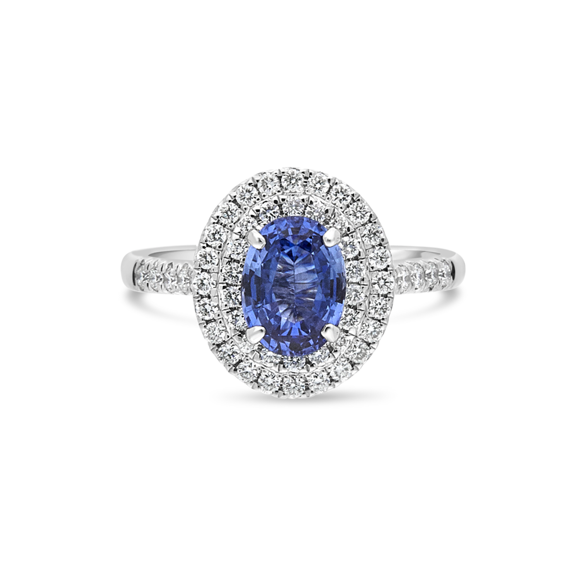 "The ""Grand Corinne"" with Sapphire, Platinum"