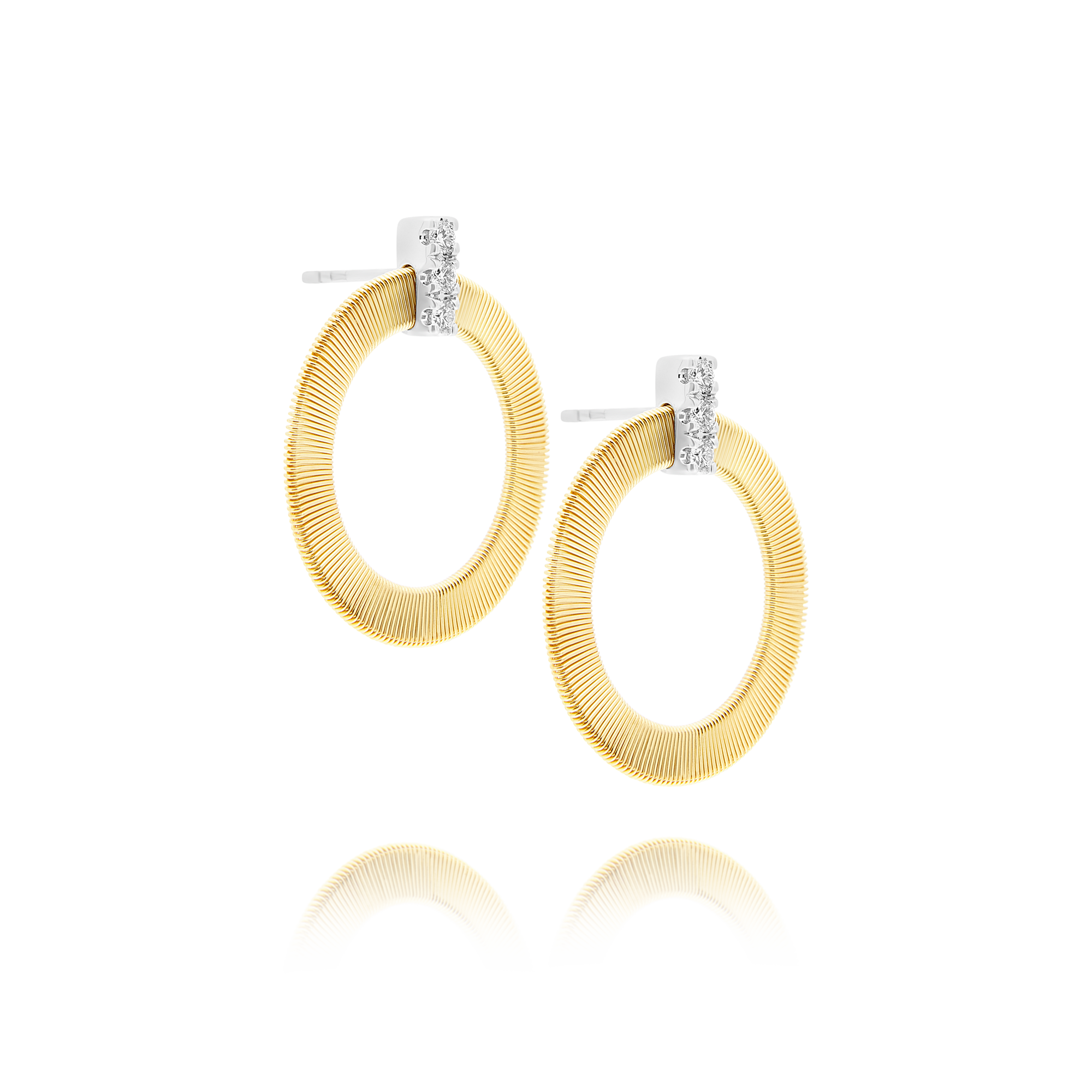 "18ct Gold and Diamond ""Masai"" Earrings Marco Bicego"