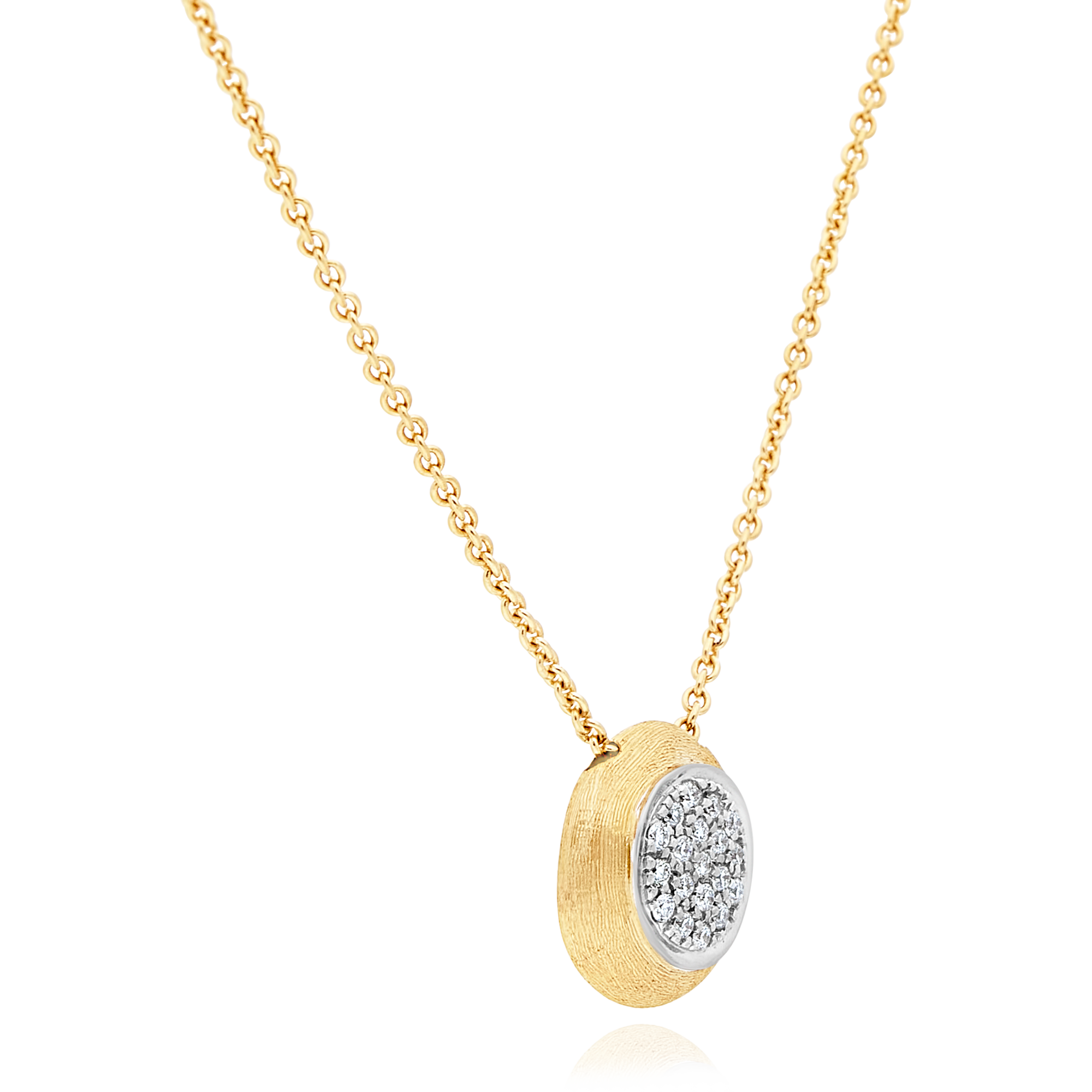 "18ct Gold and Diamond ""Delicati"" Pendant Marco Bicego"