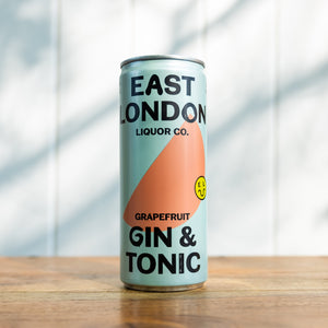 East London Liquor Company - Grapefruit Gin & Tonic (250ml, 5%)