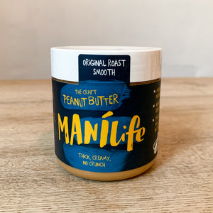 Manilife peanut butter smooth 295g - Lumberjack Supplies, Camberwell SE5