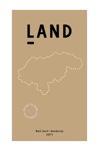 LAND: 65% Malted Dark Chocolate