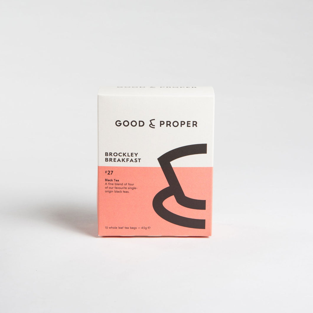 Good & Proper - Brockley Breakfast (box of 15 tea bags)