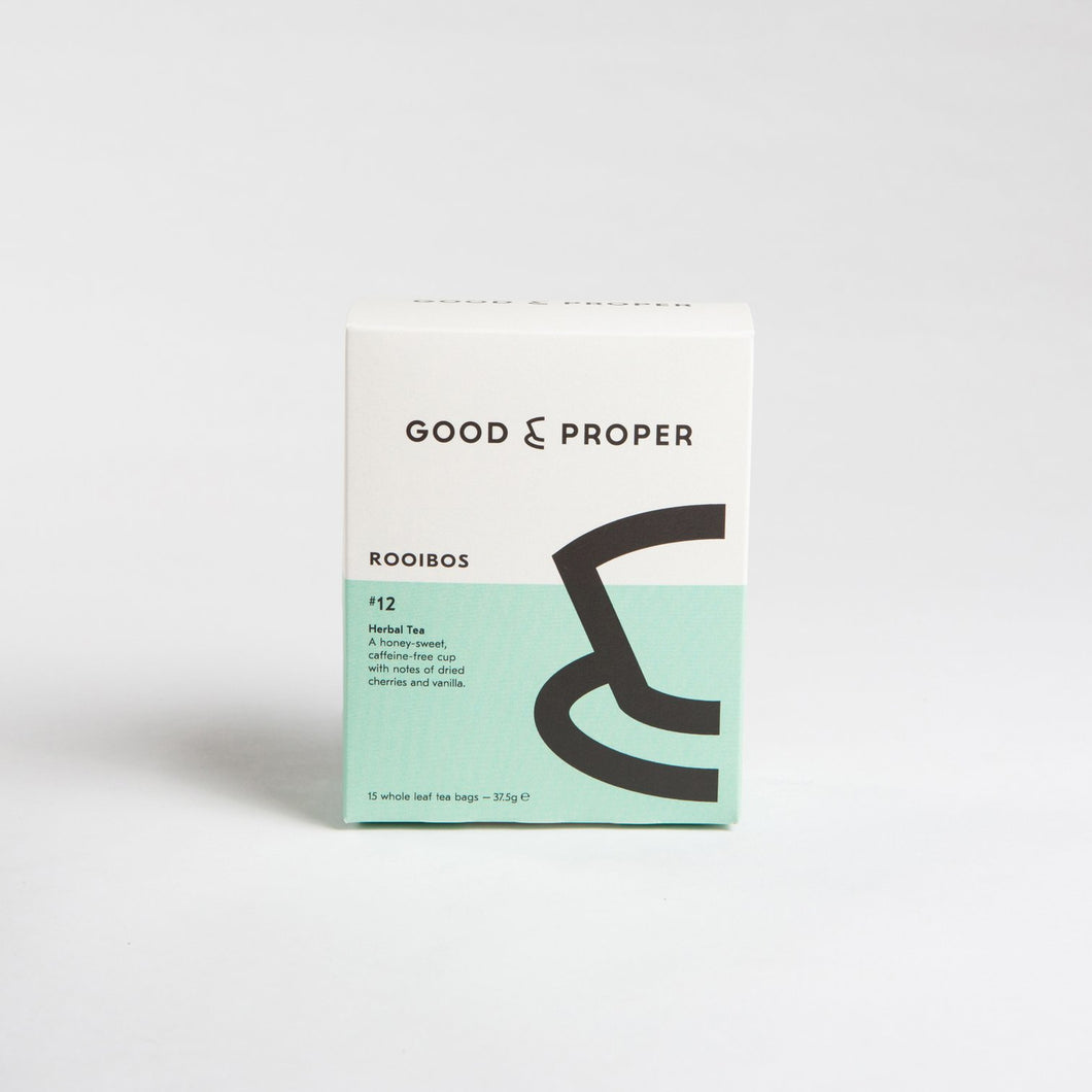 Good & Proper - Rooibos (box of 15 tea bags)