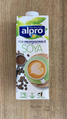 Alpro Soya Milk For Professionals 1L (foamable) - Lumberjack Supplies, Camberwell SE5
