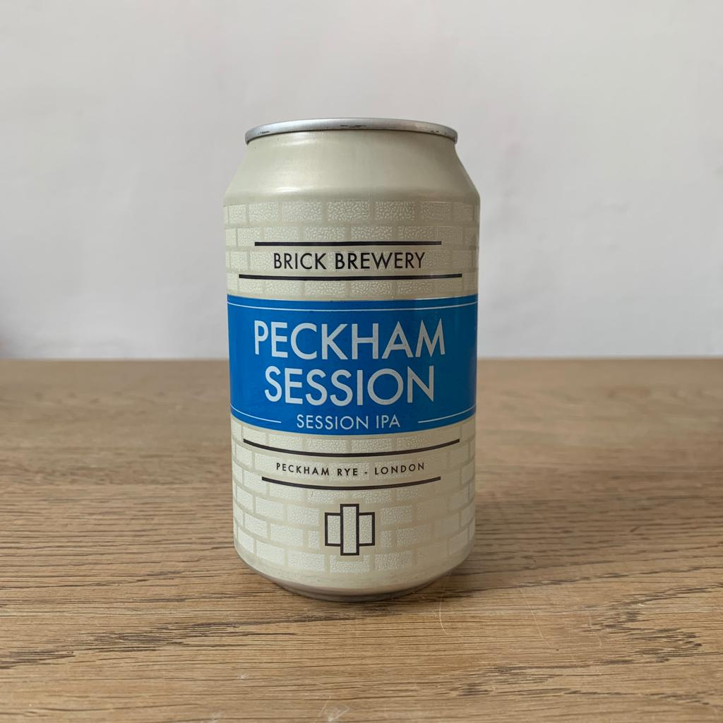 Brick Brewery, Peckham Session, Session IPA (330ml, 4.2%) - Lumberjack Supplies, Camberwell SE5