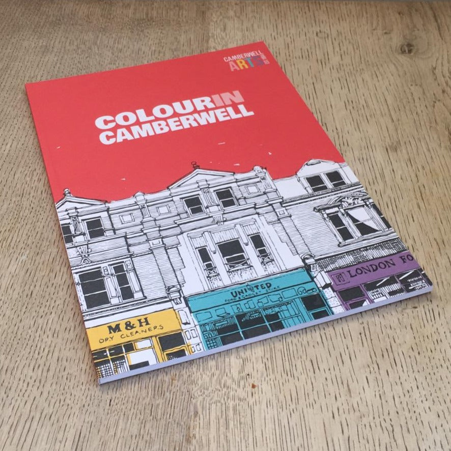 Colour in Camberwell Colouring Book (good for bored kids!) - Lumberjack Supplies, Camberwell SE5