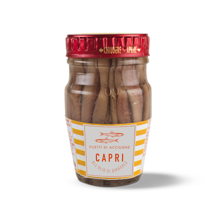 Capri Anchovy Fillets 80g