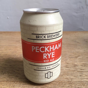 Brick Brewery, Peckham Rye - Red Ale (330ml, 4.7%)
