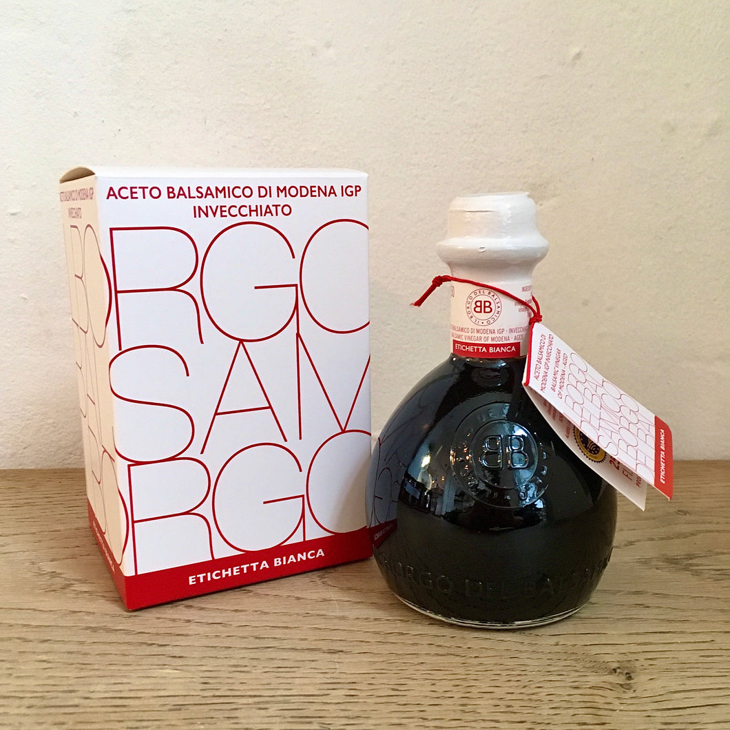 Balsamic Vinegar, White Label, 250ml Il Borgo del Balsamico