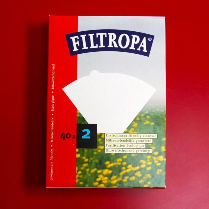 Filtropa Size 2 Filter Papers (Box of 40)