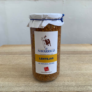 Navarrico lentils - 700g glass jar